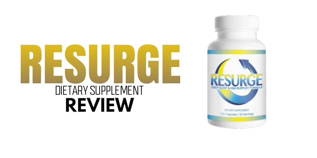 RESURGE Review + effective? or just marketing? (supplement)