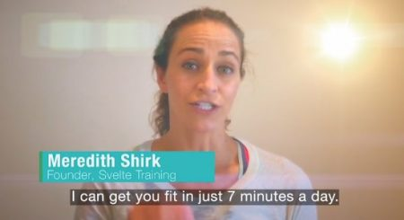 Get fit in a few minutes