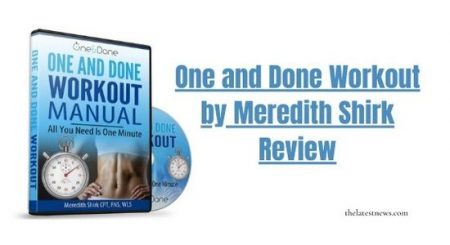 My Review for One and Done Workout Training