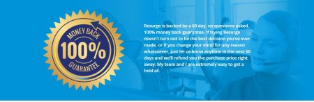 resurge money back guarantee