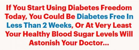 be free from diabetes