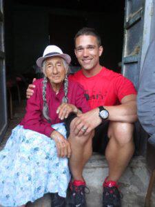 matt and grandma in ecuador